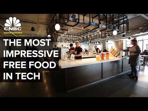 Which Tech Companies Have The Best Free Snacks