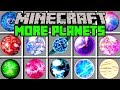 Minecraft MORE PLANETS MOD! | TRAVEL TO 100 NEW PLANETS! | Modded Mini-Game