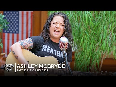 Ashley McBryde - Rattlesnake Preacher (Acoustic) // Country Rebel HQ Session