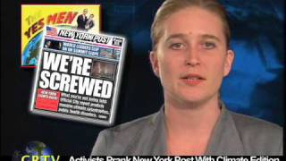 Activists Prank New York Post With Climate Edition