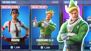 New ITEM SHOP COUNTDOWN | December 25th New Skins - Fortnite Item Shop Live