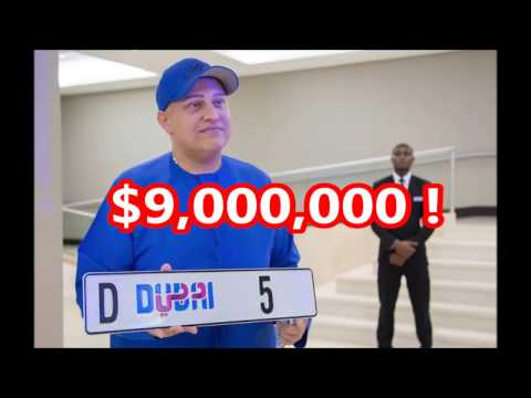 The top 5 Most Expensive Number Plates in the world  2016  Latest  
