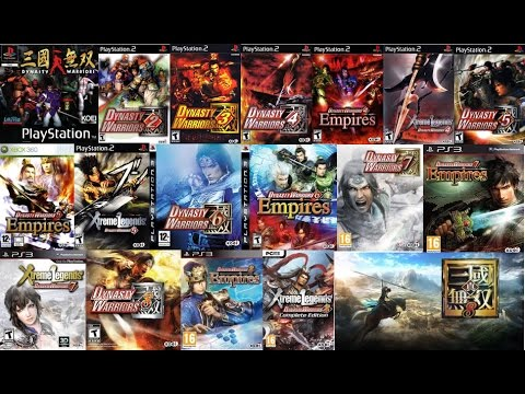 Dynasty Warriors All Openings [HD]