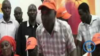 ODM Voi branch chairman John Maghanga and his deputy Juma Mwambogha threatens to quit ODM