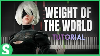 "How to play ""WEIGHT OF THE WORLD"" from Nier Automata 