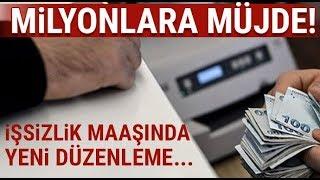 İŞSİZLİK MAAŞINDA YENİ DÜZENLEME (SON DAKİKA..!)