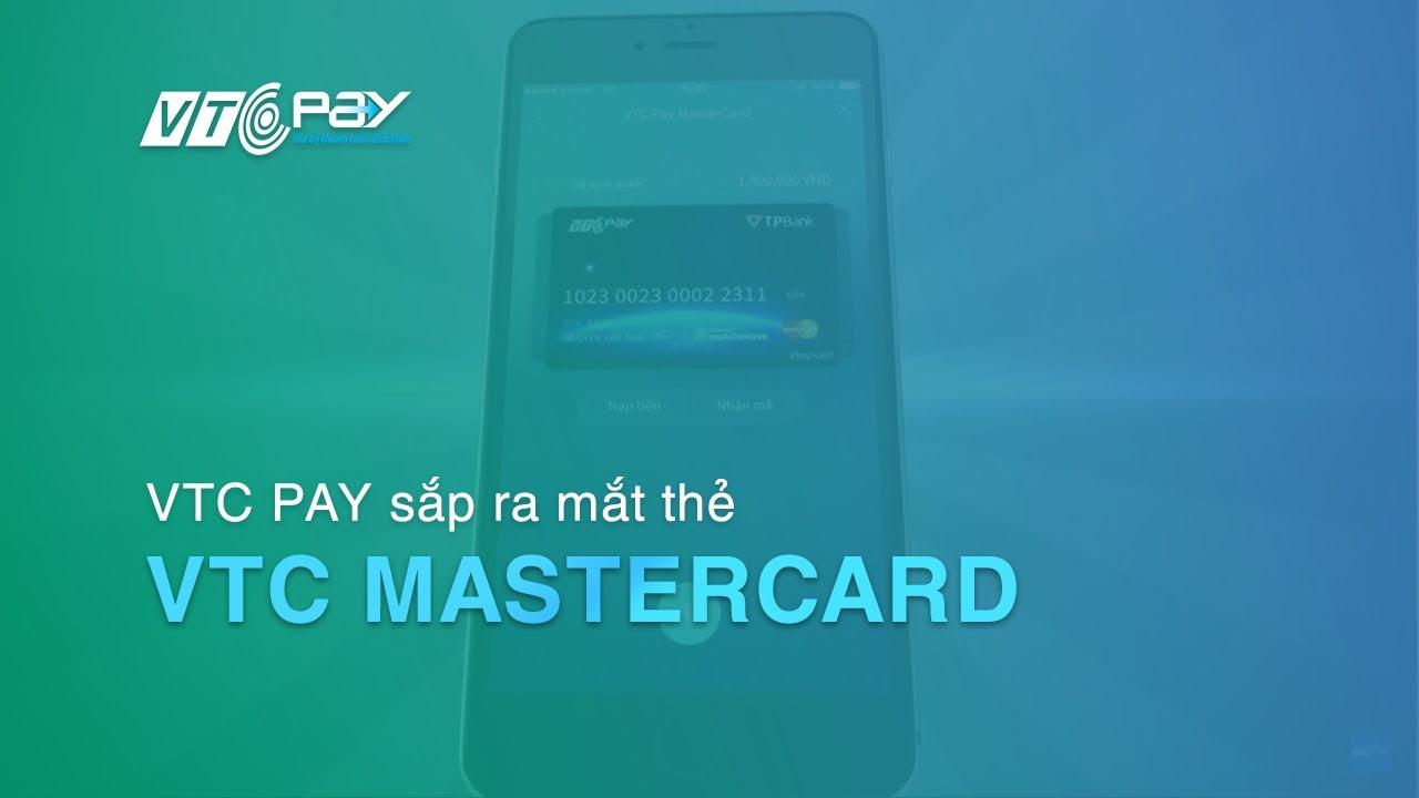[VTC Pay] Sắp ra mắt thẻ VTC Pay Mastercard năm 2016