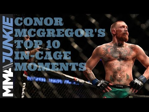 Conor McGregor's 10 most memorable in-cage moments