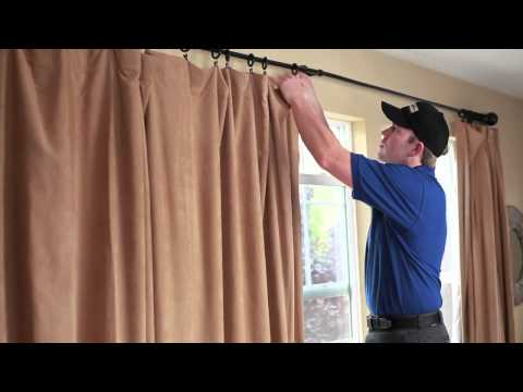 Drapery Cleaning with Coit Services