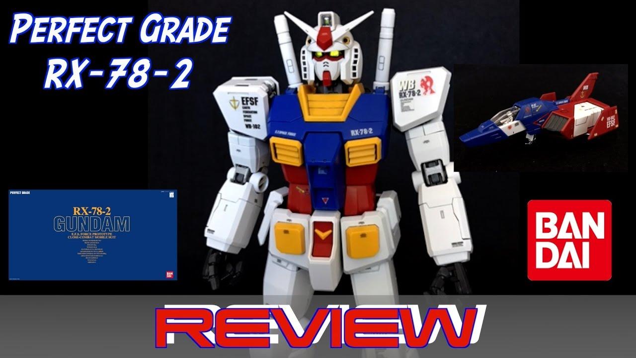 ea20cb07ec1 PG RX-78-2 Gundam Review - 1 60 Scale PERFECT GRADE - YouTube