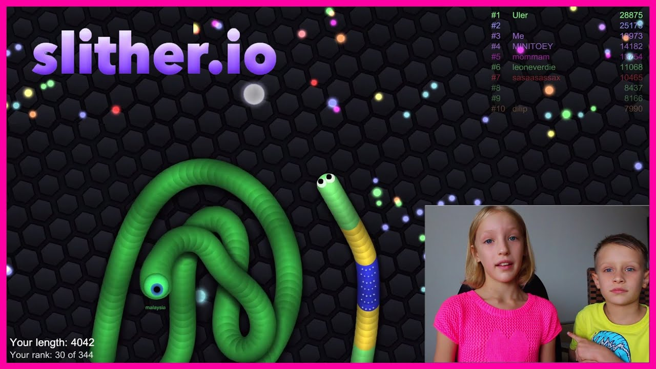 Download Slither.IO the SNEAKY SNAKE is ADDICTIVE