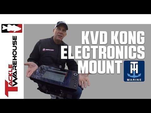 T-H Marine KVD Kong Electronics Mount with Kevin VanDam