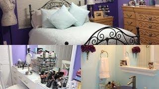 ROOM TOUR : Bedroom, Makeup Room & Bathroom Tour