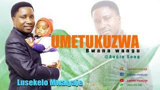 UMETUKUZWA BWANA WANGU - LUSEKELO MWALYAJE (OFFICIAL AUDIO)