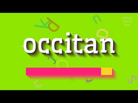 """How to say """"occitan""""! (High Quality Voices)"""
