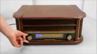 Soundmaster Nostalgic Music-Centre NR-513 (UK-version)