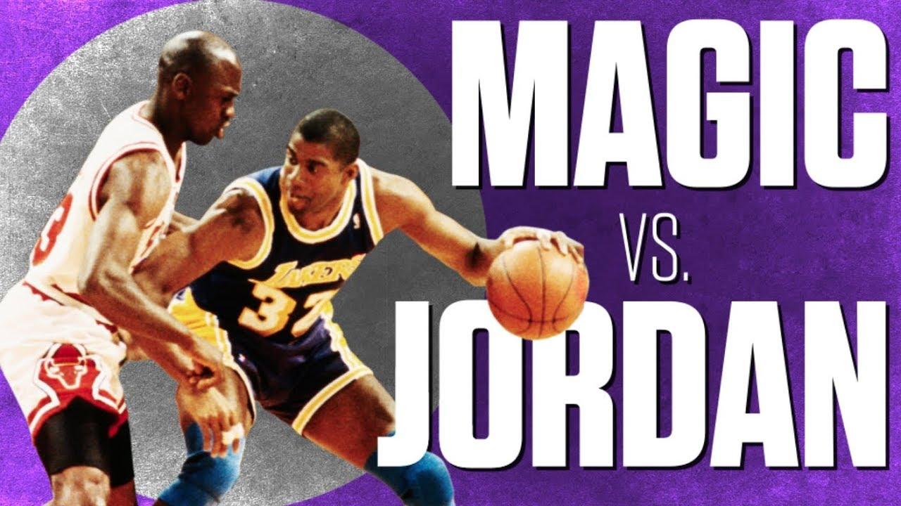 Magic, Lakers outlast Michael Jordan and the Bulls in Game 1 of the 1991  NBA Finals