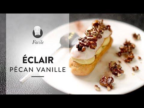 la-recette-facile-des-Éclairs-pécan-vanille-:-encore-plus-gourmands-que-les-éclairs-au-chocolat-!