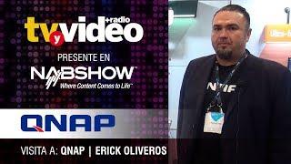 Visita a Qnap durante NabShow 2019