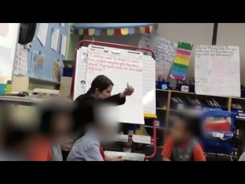Teacher Caught Berating First Grader (VIDEO)