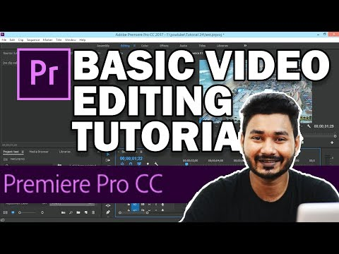 Premier Pro Bangla Tutorial | Video Editing Bangla Tutorial for Beginners