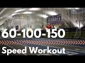 60-100-150 (Fast Speed Workout)