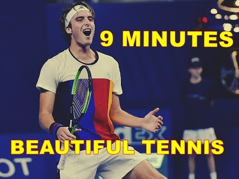 Stefanos Tsitsipas 9 Minutes of Beautiful Tennis
