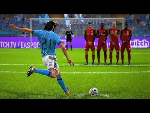 best free kick takers fifa 18 premier league