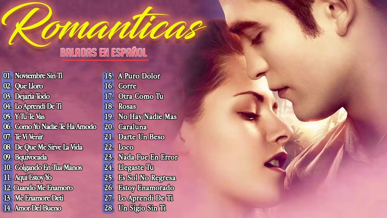 Los 100 Éxitos Puras Románticas Viejitas Pero Bonitas 90s - Música Romántica De Todos Los Tiempos