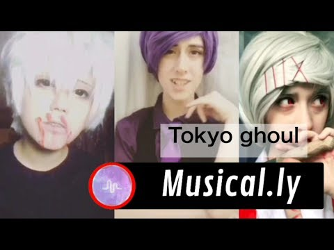 Tokyo ghoul musical.ly compilation
