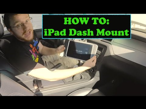 How To: IPad Dash Mount Install