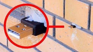 Wenn du das in der Wand findest, berühre es nicht!