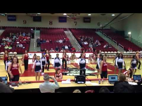2/26/14 Halftime w/Frederick Middle School Cheer