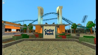 Cedar Point in ROBLOX TPT 2 / Tour!!!!!