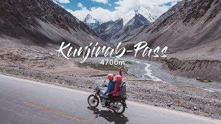 Der HÖCHSTE PASS der WELT - Mit dem Motorrad auf 4700m l Kunjirab Pass Pakistan