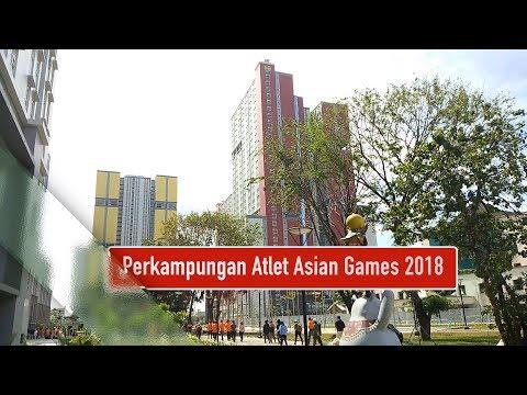 Ini Dia Wajah Perkampungan Atlet Asian Games 2018 Yang Bernilai Rp 3,4 T