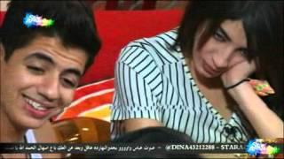 حديث وغناء بين سهيله وايهاب وحنان ورفائيل ونسيم في صالة  يوم السبت 24-10-201