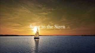 Song to the Siren - Paul Charlier & Paula Arundell