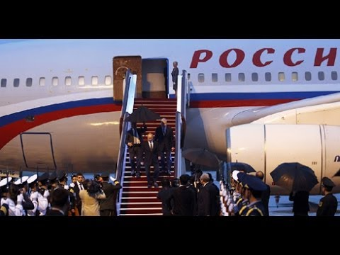Putin arrives in Shanghai for state visit