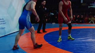 Спорт. Вольная борьба. Турнир Кожомкула-2018. День 2 Мат B (Часть 4)