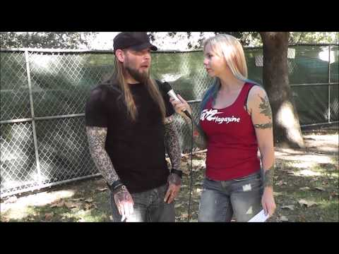 SOiL Interview 2013 Ryan McCombs with Tat2 Magazine & Ms. Angi at Aftershock Festival