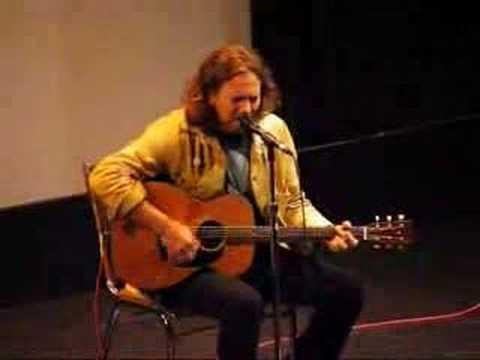 Eddie Vedder 'Here's to the State of George W ' Sep 11, 2007