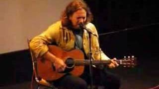 Download Eddie Vedder 'Here's to the State of George W ' Sep 11, 2007 MP3 song and Music Video