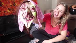Especial de Halloween 🎃 | Apareceu uma mala misteriosa com Máscaras Assustadoras 👻