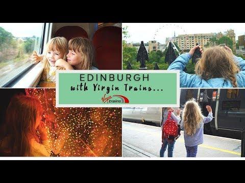 EDINBURGH TRAVEL GUIDE WITH VIRGIN TRAINS {AD}