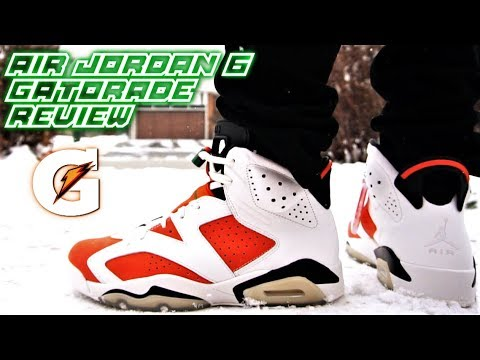 3507df12ae4 AIR JORDAN 6 GATORADE (LIKE MIKE) REVIEW (I REGRET BUYING THESE ...