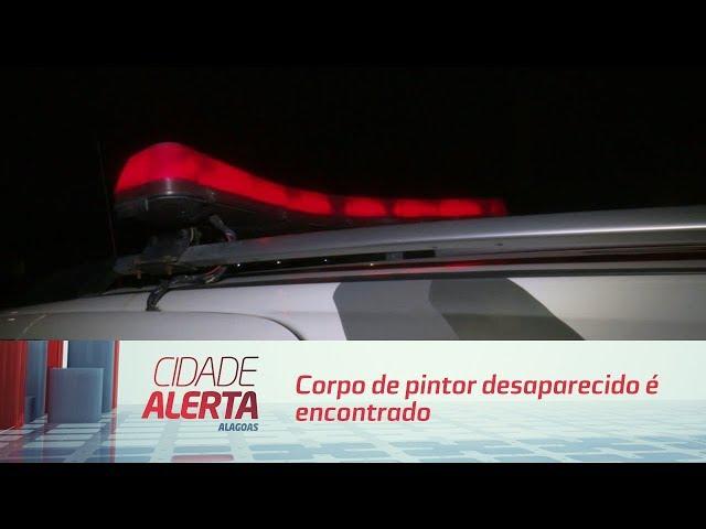 Corpo de pintor desaparecido é encontrado no Pontal da Barra