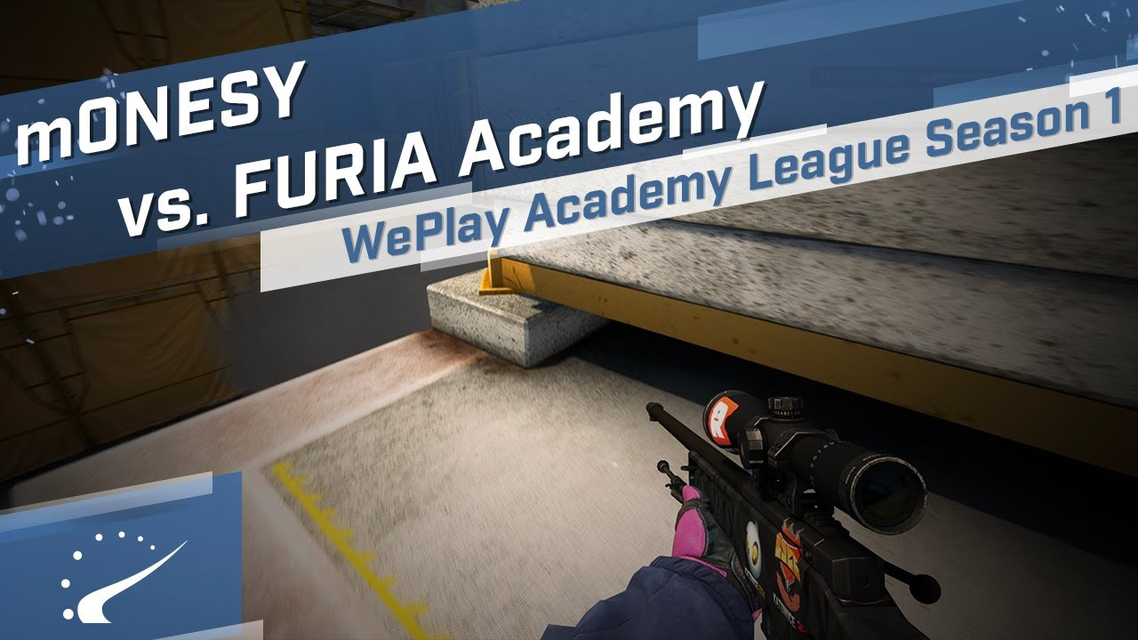 m0NESY vs. FURIA Academy - WePlay Academy League Season 1