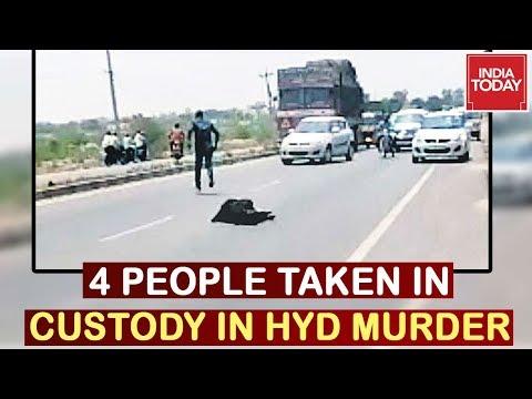 Hyderbad Murder : Four People Taken Into Custody In Doctor Murder Case On Highway
