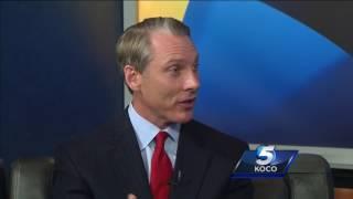 State Treasurer Ken Miller discuss state's budget crisis